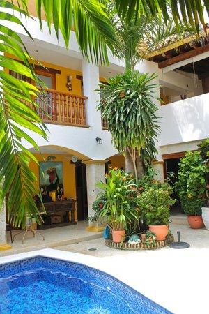 Hotel Casa Gloria: Piscina
