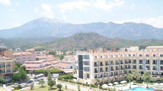 White Lilyum Hotel : Вид с крыши