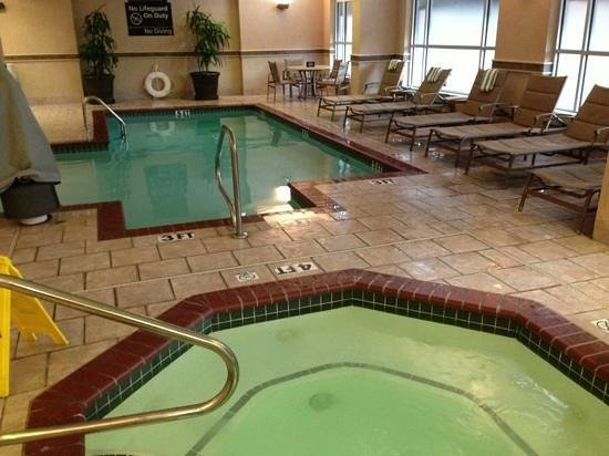 Hampton Inn & Suites Memphis - Beale Street : indoor pool