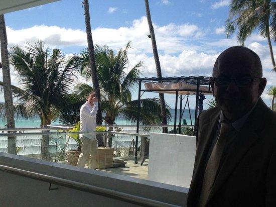 Estacio Uno Lifestyle Resort: The balcony