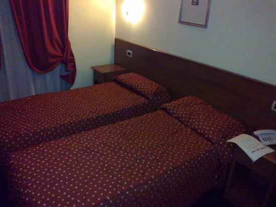 Hotel Urbani: two single bes
