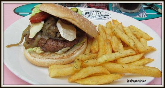 HD Diner Saint-Michel: burger can can