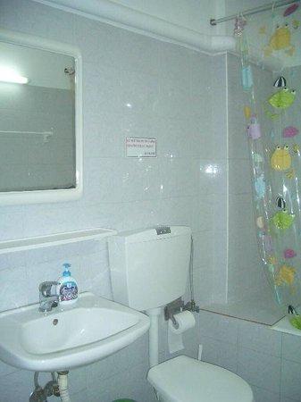 Voula Hotel: bath
