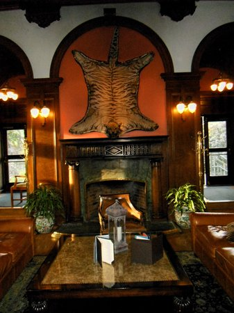 The Bengal Lounge: Feature Wall