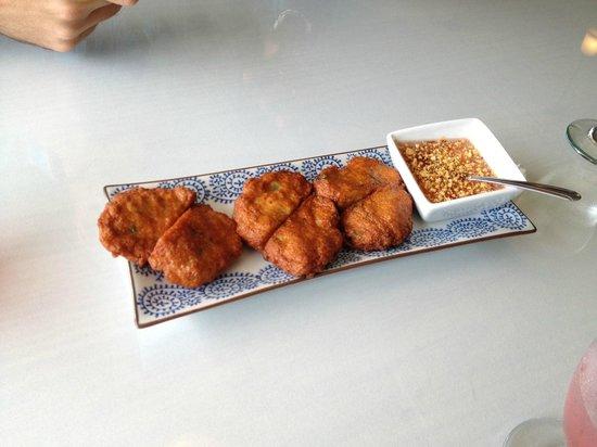 Basil Thai Cuisine: Crab Cakes/Fish Cakes
