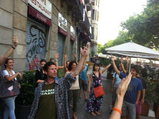 Travel Bound Barcelona Free Walking Tours: Flamenco lesson with Joseph