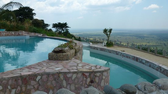 Kingfisher Lodge Kichwamba : Pool
