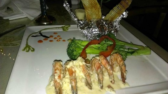 Evergreen Steak & Seafood Restaurant: Scampi