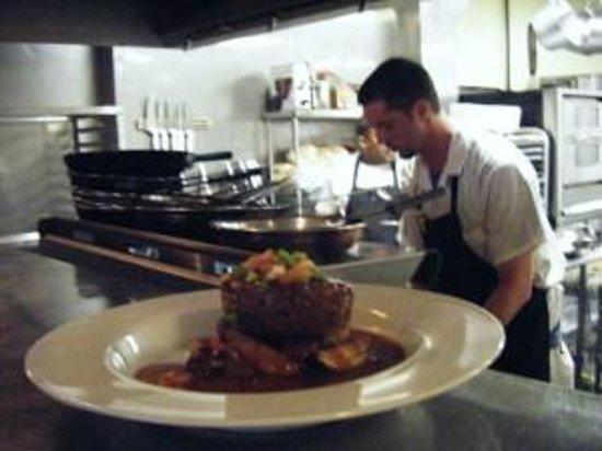 Pangea Cafe: Chef Justin Crandall