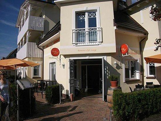 Sprizz: Eingang - von Hafenstraße, Zingst