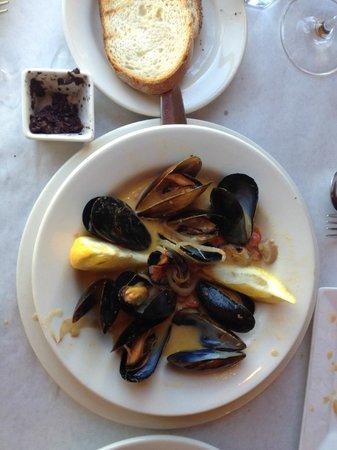 Bistro Des Copains: Mussels