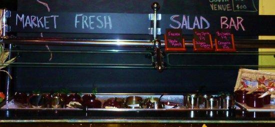 Pangea Cafe: Market Fresh Salad Bar :)