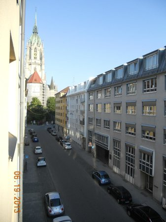 GHOTEL hotel & living Munchen-City: view from our window