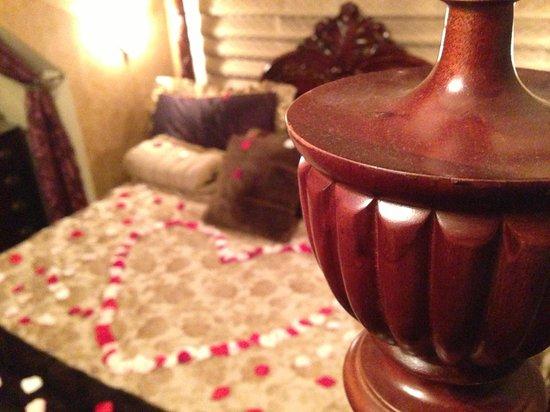 Abigail's Hotel: Rose petal add on (artificial but beautiful)