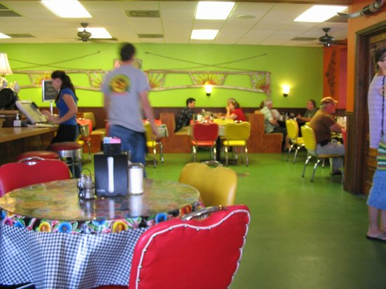 Wimberley Cafe: Interior