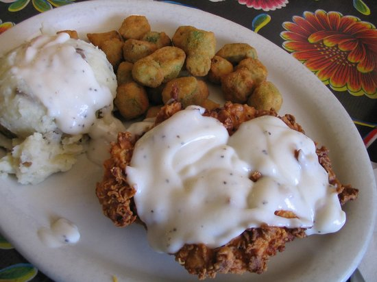 Wimberley Cafe: Chicken Fried Chicken