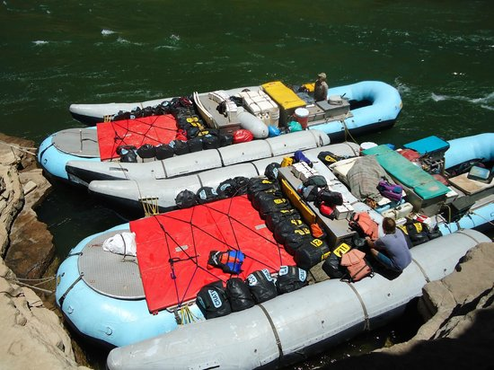 Colorado River & Trail Expeditions: Rafts
