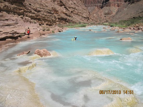 Colorado River & Trail Expeditions: Floating down the Little Colorado