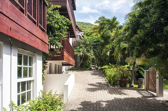 Tamarind Hotel: Path to rooms