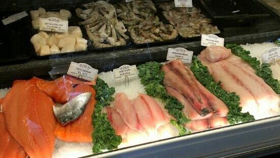 Bentonville Butcher & Pint: Seafood