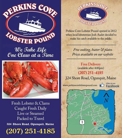 Perkins Cove Lobster Pound: More About us