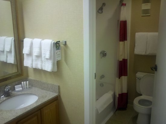 Residence Inn Denver Tech Center: Bathroom