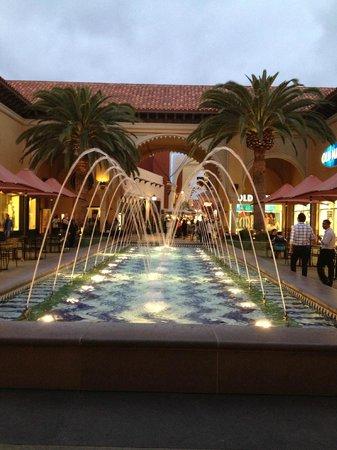 Irvine Spectrum Center: at night