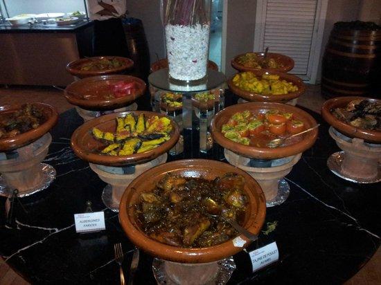 Sensimar Medina Gardens: Buffet marocain