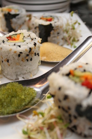 Theodores : Vegetarian Sushi Roll