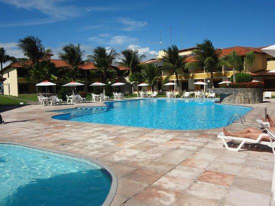 Coroa Vermelha Praia Hotel : vista piscina