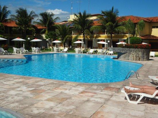 Coroa Vermelha Praia Hotel : Pscina