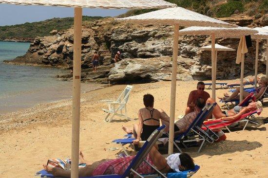 Hotel Perrakis: Great beach