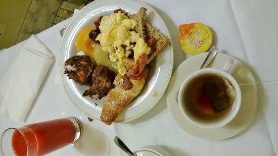 Hotel La Rosetta : La colazione.