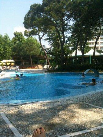 Hotel Bristol Buja: piscina