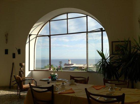 Ischia Casa della Vela: Sala colazioni