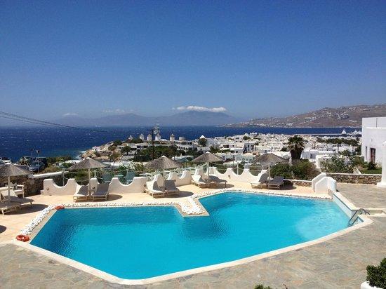 Ilio Maris Hotel : Amazing pool and view