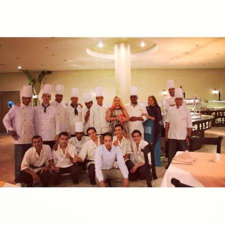 Dessole Holiday Taba Resort: прекрасный шеф-повар и его команда