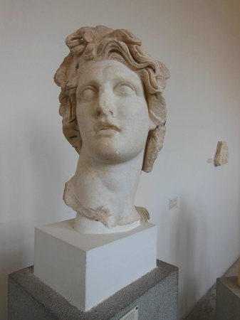Museo arqueologico de Rodas: This bust of Helios is one of the leading attractions at the museum