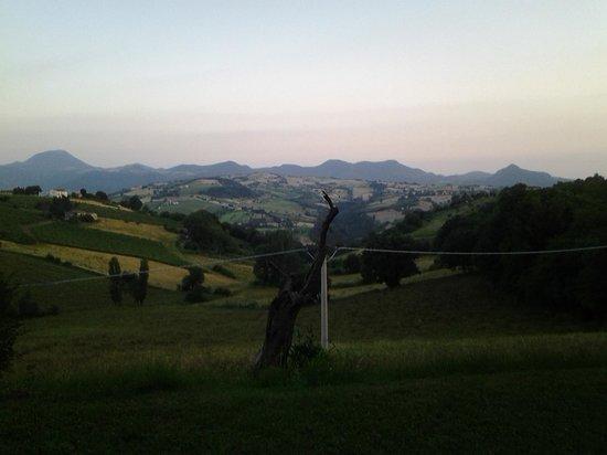 La Girandola: View from the pool