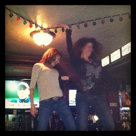 Syracuse, NY: Things can get a little wild on the bar with our pole