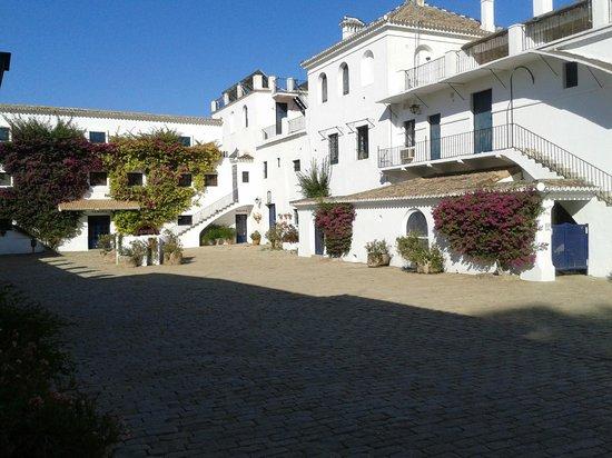 Hotel Cortijo El Esparragal : Patio donde se celebró el banquete para 80 personas