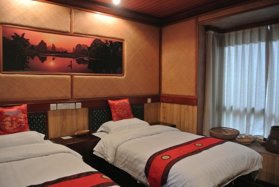 Guilin B&B: Master bedroom
