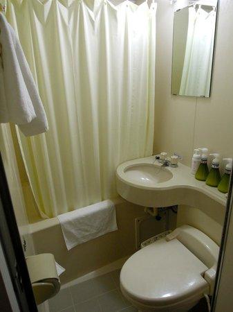 Grand Park Hotel Panex Tokyo: Bathroom