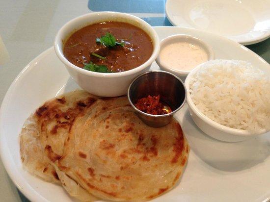 Aahaar an Indian Eatery : Malabar Mutton Kurma, Aahaar style