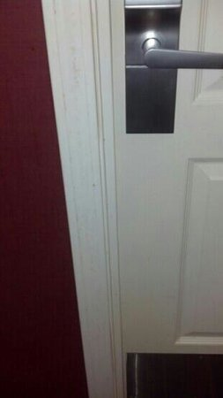 Residence Inn National Harbor Washington, DC Area: A picture of my door upon my arrival.