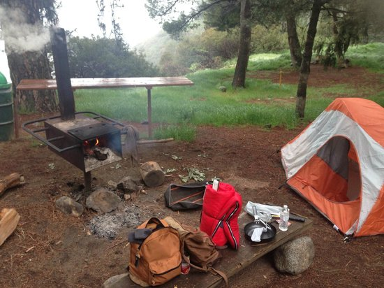 Henninger Flats Campground : Our camping site <3!