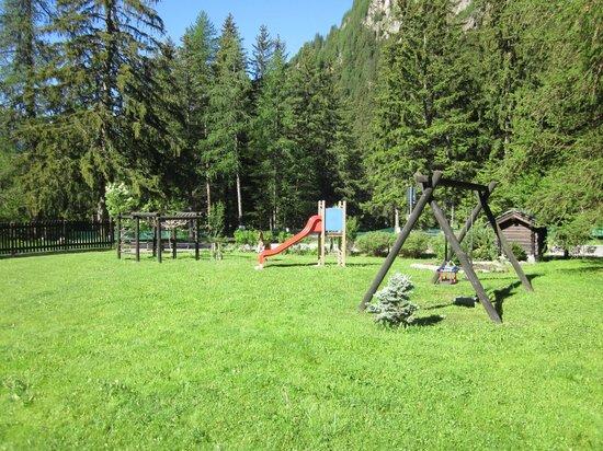 Hotel Monte Cervino: l'area giochi
