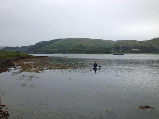 Craobh Haven Watersports: The only thing not perfect was the weather!