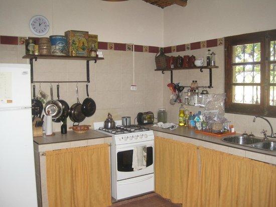 Finca Ogawa: Kitchen
