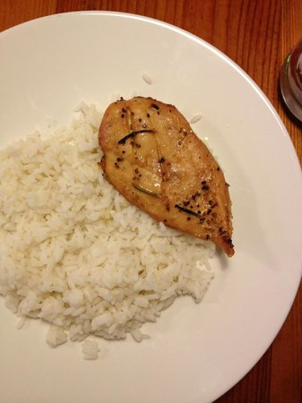 Fabrika: Chicken with White Rice